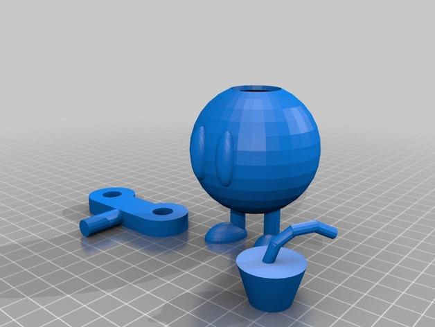 bob-omb 底座 3D打印模型渲染图