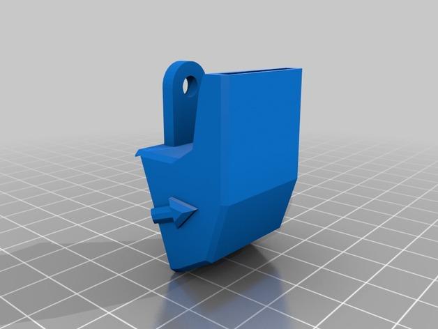 rostock max 打印机通风导管