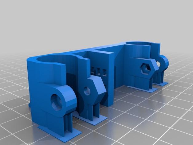 Rostock打印机磁性接合连接器