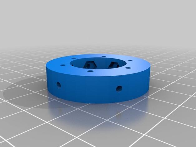 Kossel Deltabot打印机工具架