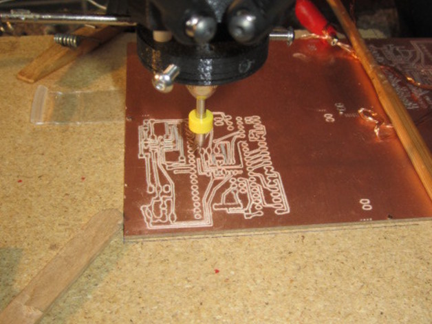 Kossel Deltabot打印机工具架 3D打印模型渲染图