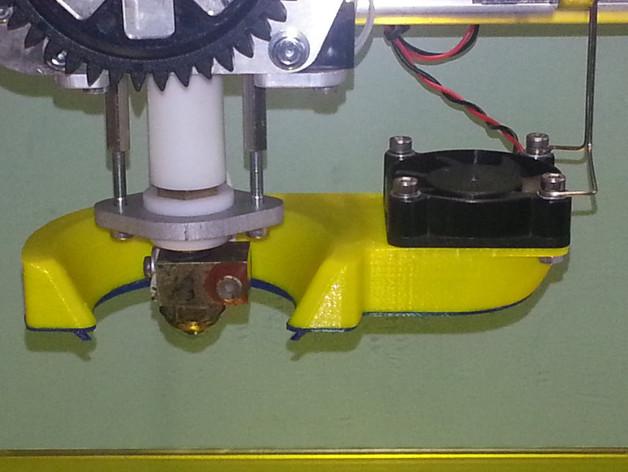 K8200打印机风扇通风管