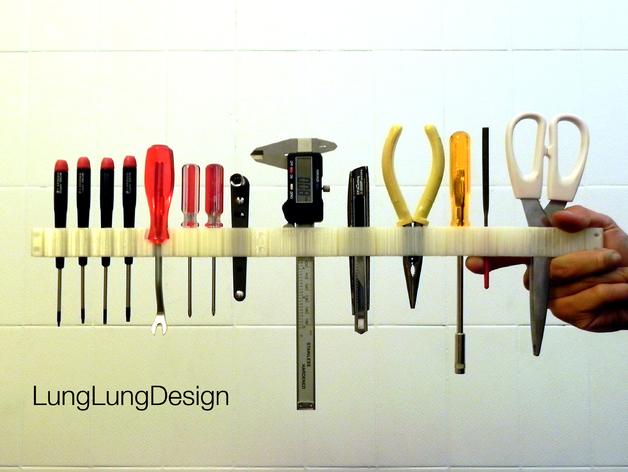 可拼组的工具架