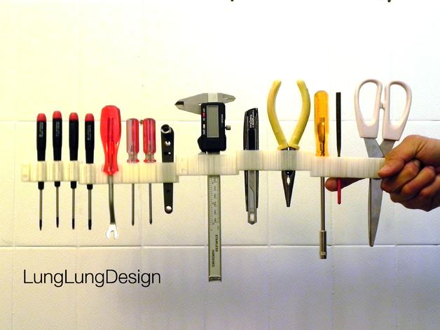 可拼组的工具架 3D打印模型渲染图