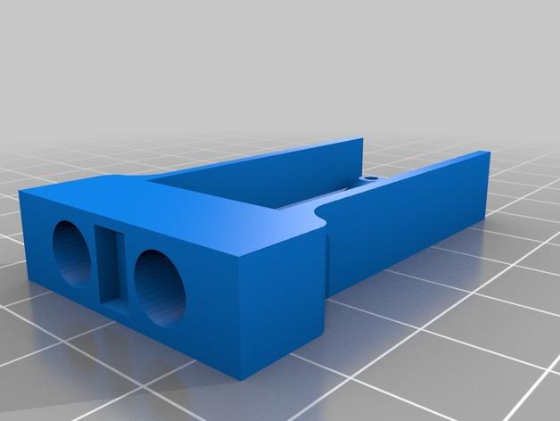 Kossel Mini打印机喷嘴架