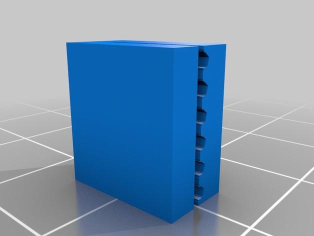 PrintrBot打印机Y轴皮带固定装置