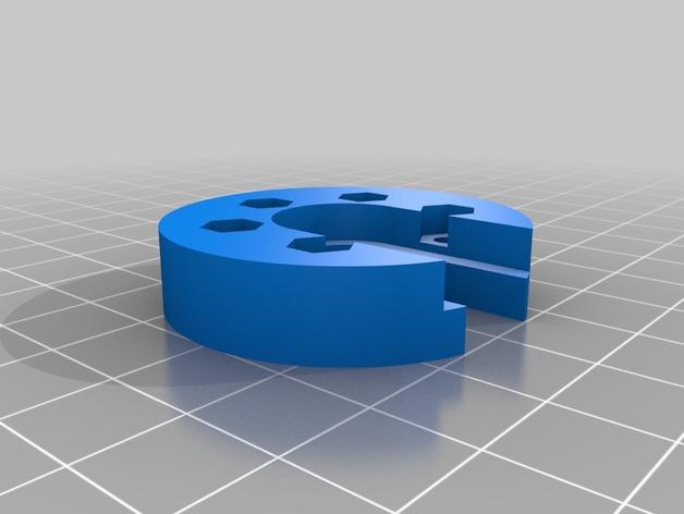 mini Kossel打印机J形槽固定座