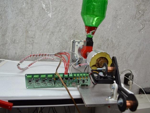 RepRap挤出机 3D打印模型渲染图