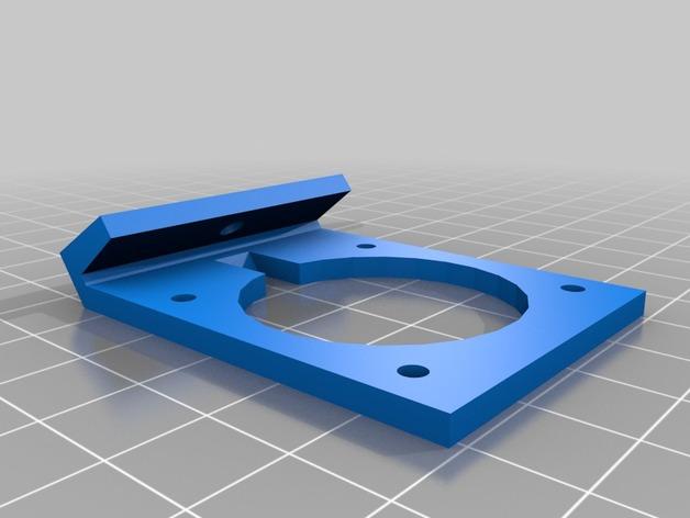 Robo3D打印机风扇座 3D打印模型渲染图