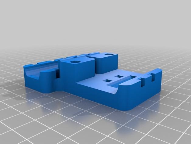Prusa i3打印机X轴皮带固定器