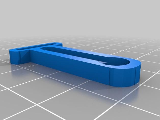 Makerfarm i3 打印机Z轴探针架 3D打印模型渲染图