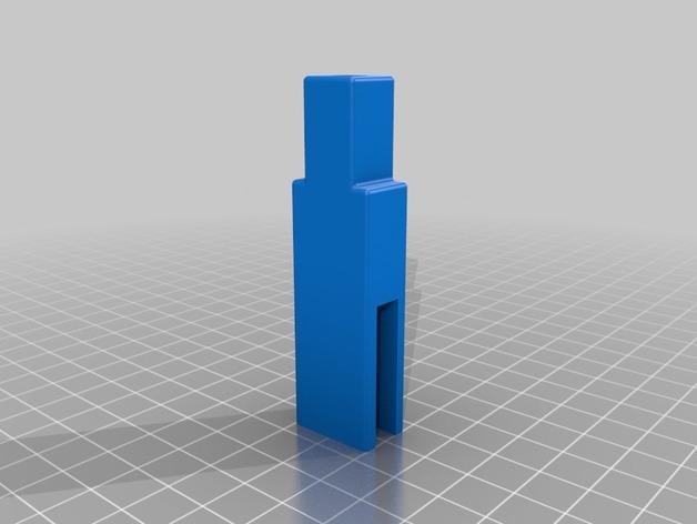 Prusa i3打印机LCD显示屏支架 线轴架