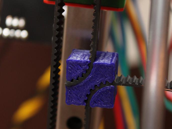 皮带夹 3D打印模型渲染图
