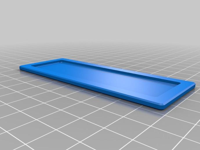 Makerbot Replicator打印机打印床支撑架