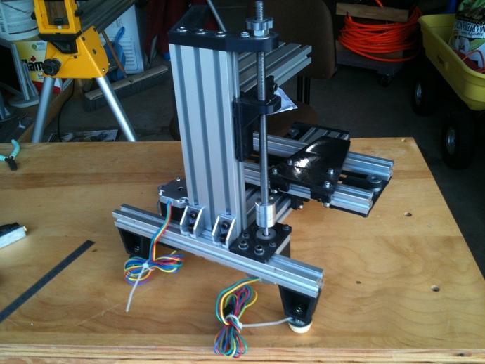 垂直3D打印机