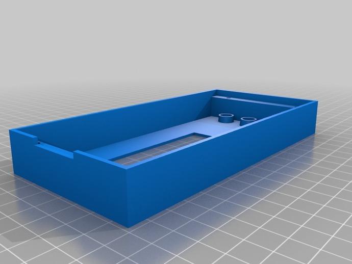 RAMPS LCD 控制器保护套 3D打印模型渲染图