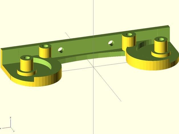 打印机线轴架