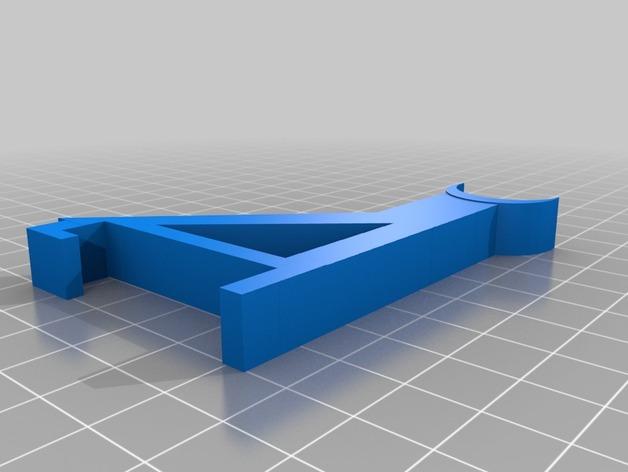 小型线轴卷支架