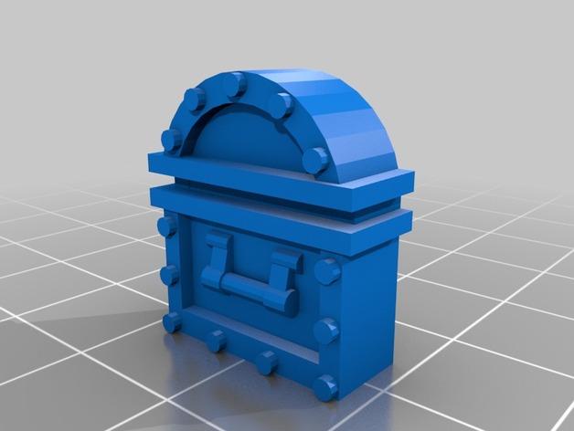 百宝箱连接器  3D打印模型渲染图