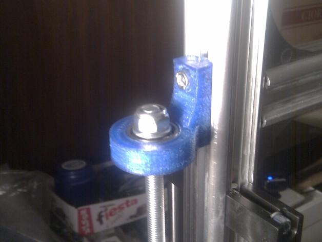 轴承支架 3D打印模型渲染图