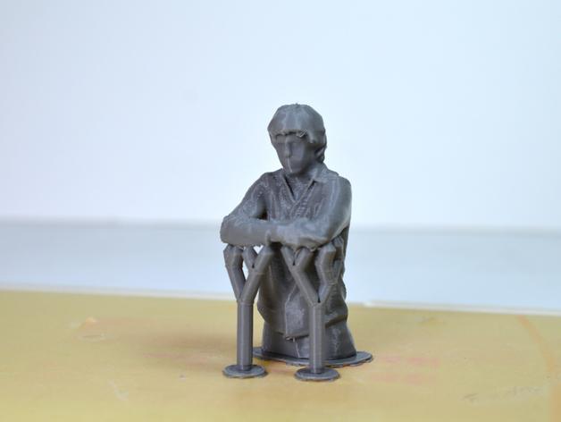 人物半身雕塑