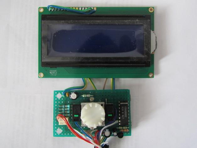 有着蓝色背景灯按钮的独立K8200
