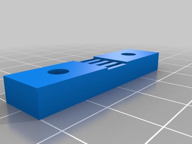 打印机Y轴皮带固定器
