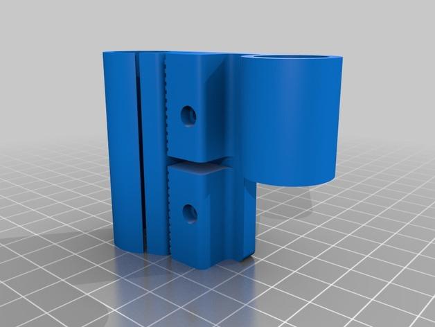 Prusa i3打印机X轴机箱框架