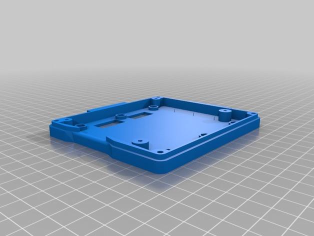 打印机智能控制器LCD显示屏保护外壳