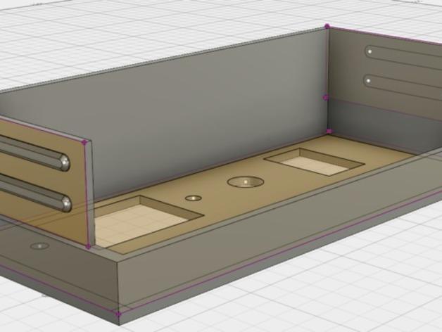 电源罩 电源保护罩 3D打印模型渲染图