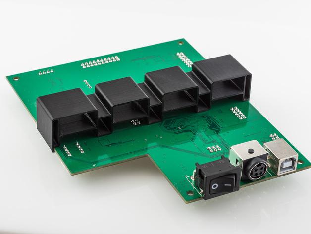 电路板主板支架 3D打印模型渲染图