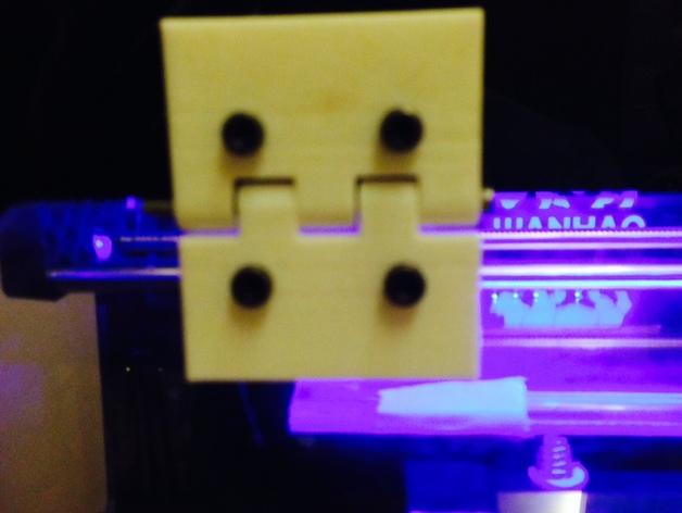 打印机前门铰链 3D打印模型渲染图