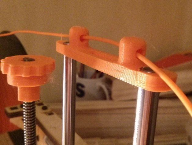 Printrbot Simple打印机Z轴导线器 3D打印模型渲染图