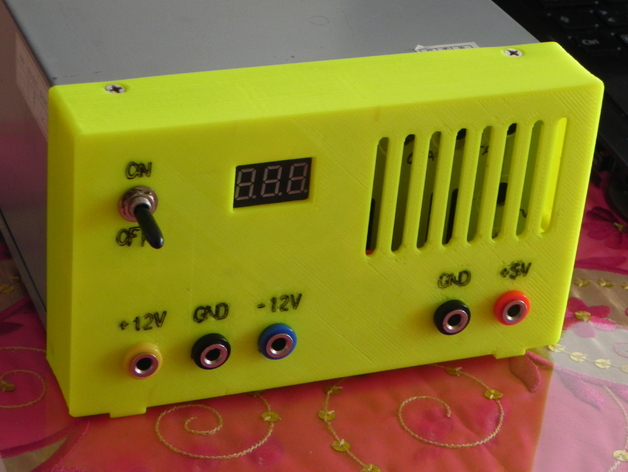 电源保护盒 3D打印模型渲染图