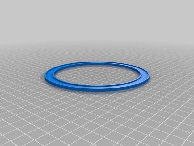平放式线轴