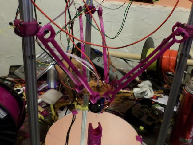 Delta 式3D打印机