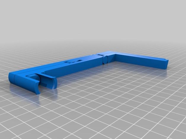 折叠式线轴支架