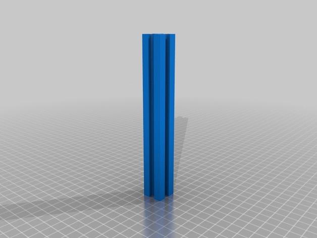 铝型材 3D打印模型渲染图