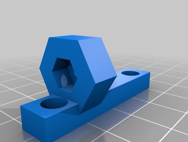 Z轴止动臂 3D打印模型渲染图