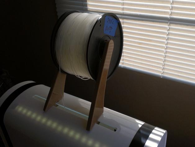 线轴架 导线器 3D打印模型渲染图