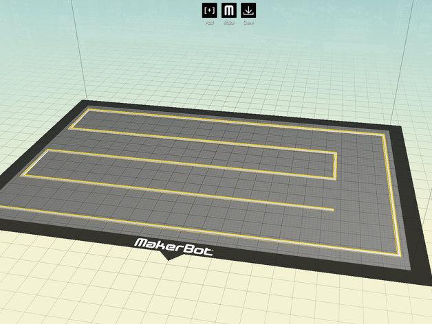 打印床盘式水准器 3D打印模型渲染图