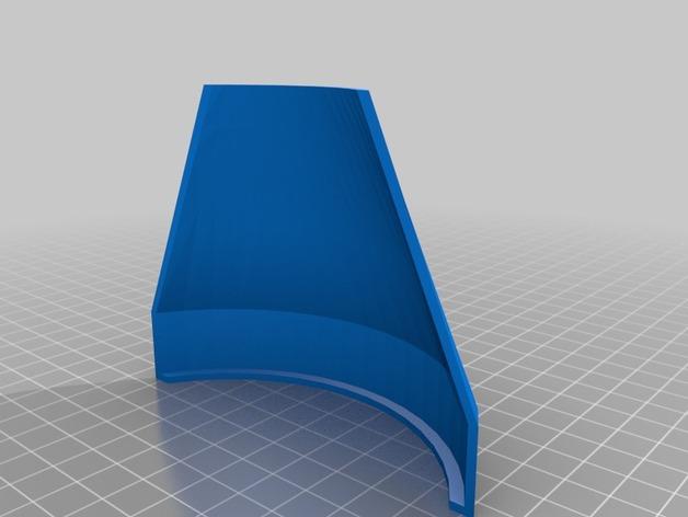 Prusa i3 打印机风扇 3D打印模型渲染图