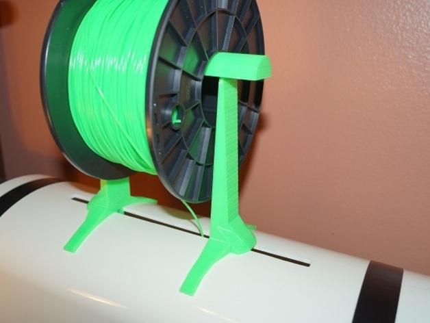 线轴支架 3D打印模型渲染图