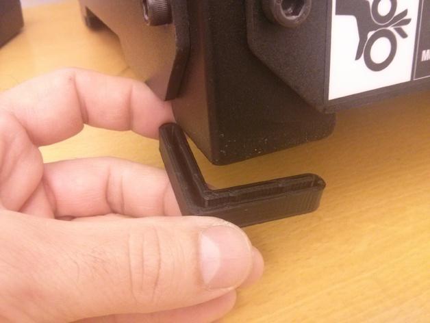 打印机角托  稳定器  3D打印模型渲染图