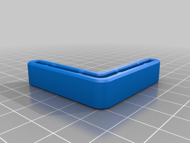 打印机角托  稳定器