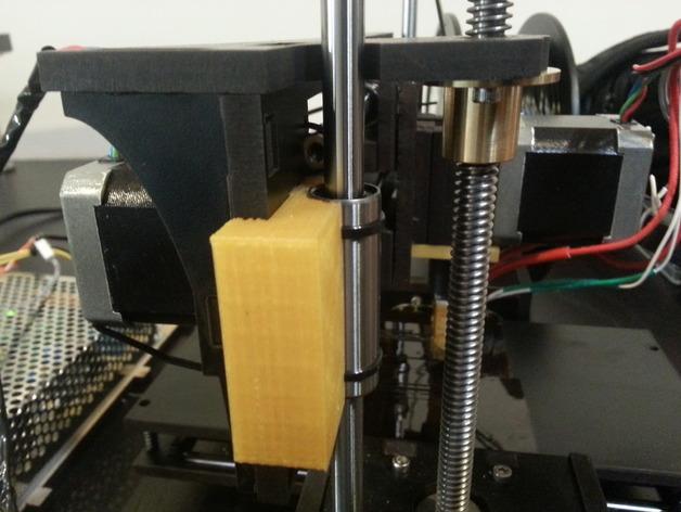 QU-BD One Up /Two Up 打印机Z轴校准器垫片 3D打印模型渲染图