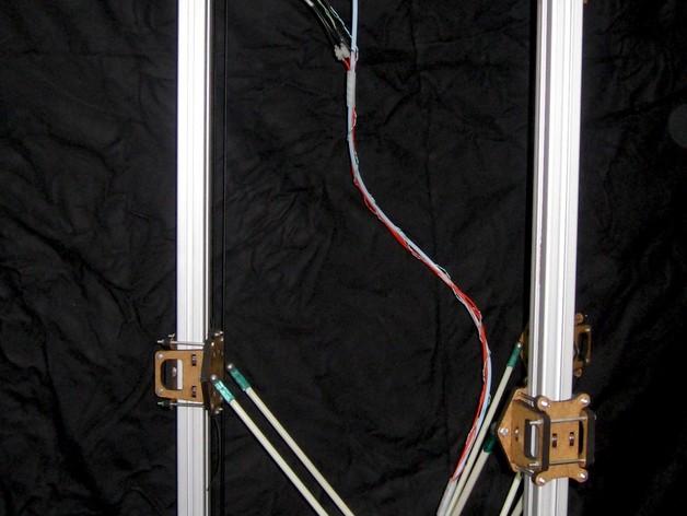 Delta 式打印机 3D打印模型渲染图