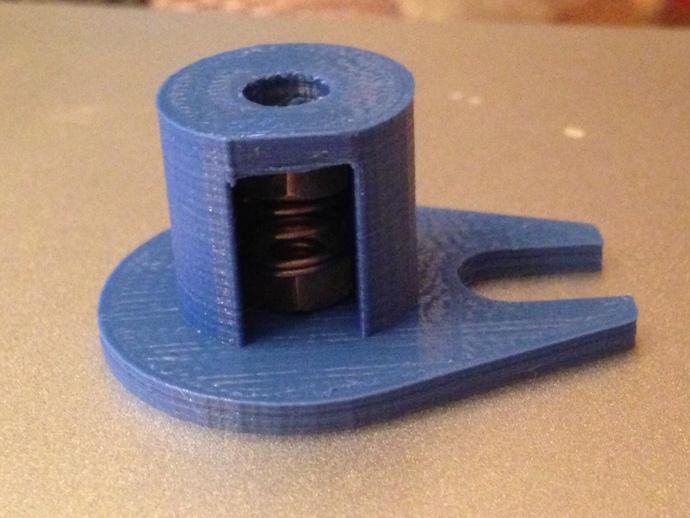 Z轴防震器 3D打印模型渲染图