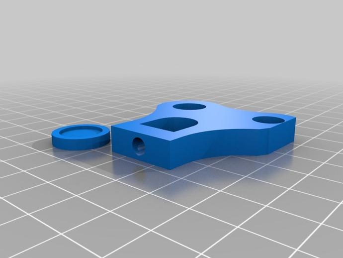 Prusa i3打印机Y轴限位开关
