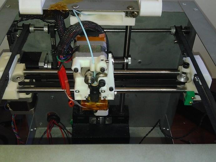 打印机X轴和Y轴部件 3D打印模型渲染图